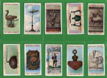 Tobacco cards set  Cigarette cards Curious Signs 1925